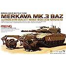 1/35 メルカバMK.3 BAZ w/ ノッフリー・ダレット マインローラーシステム