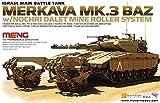 モンモデル 1/35 メルカバMK.3 BAZ w/ノッフリー・ダレット マインローラーシステム プラモデル