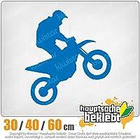 KIWISTAR - Motocross Motorcycle Bike 15色 - ネオン+クロム! ステッカービニールオートバイ