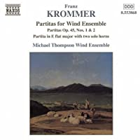 Partitas for Wind Ensemble by KROMMER (2004-11-18)