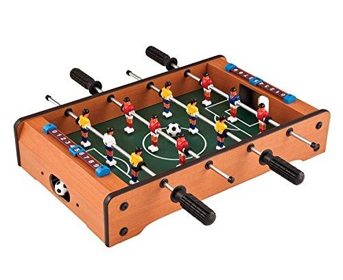 origin テーブルサッカーゲーム 家庭用フットボールテーブル 木製筐体 6×6 本格的 卓上フーズボール 得点板付 組立簡単 インテリアにも OGB332