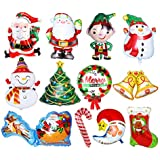 Echana クリスマス飾り付け バルーン セット アルミ クリスマス バルーン 風船 飾り付け 12 セット