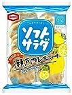【タイムセール】亀田製菓 ソフトサラダ 瀬戸内レモン味 18枚×12個が激安特価!