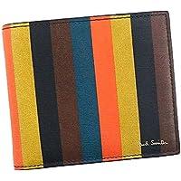 (ポールスミス) PaulSmith BILLFOLD WALLET AND COIN メンズ レザー 二つ折り財布 [並行輸入品]