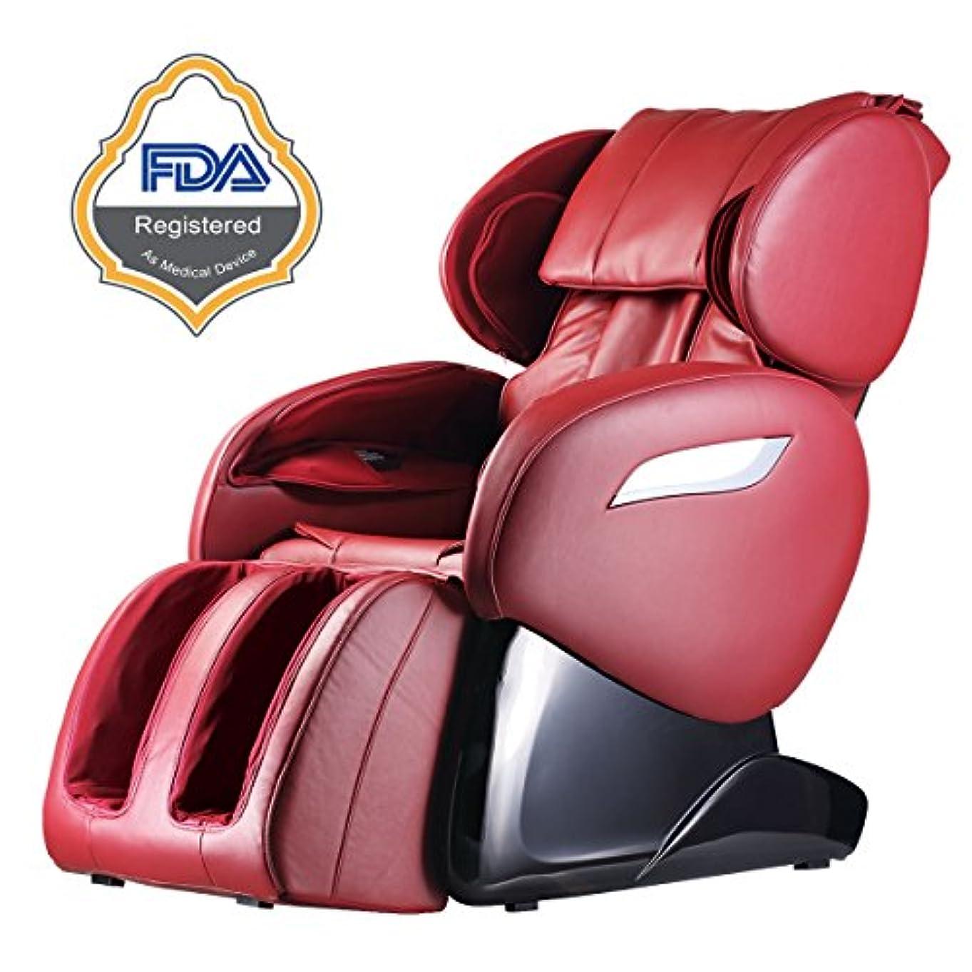 漂流病弱エンコミウム2017電動フルボディ指圧マッサージ椅子足ローラーZero Gravity W /熱