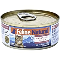 フィーラインナチュラル キャットフード プレミアム缶 チキン&ベニソン 85g