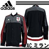 (アディダス)adidas ACミラン アンセムジャケット IQW44 M36290 ブラック/ビクトリーレッドS04/コアホワイト J/L