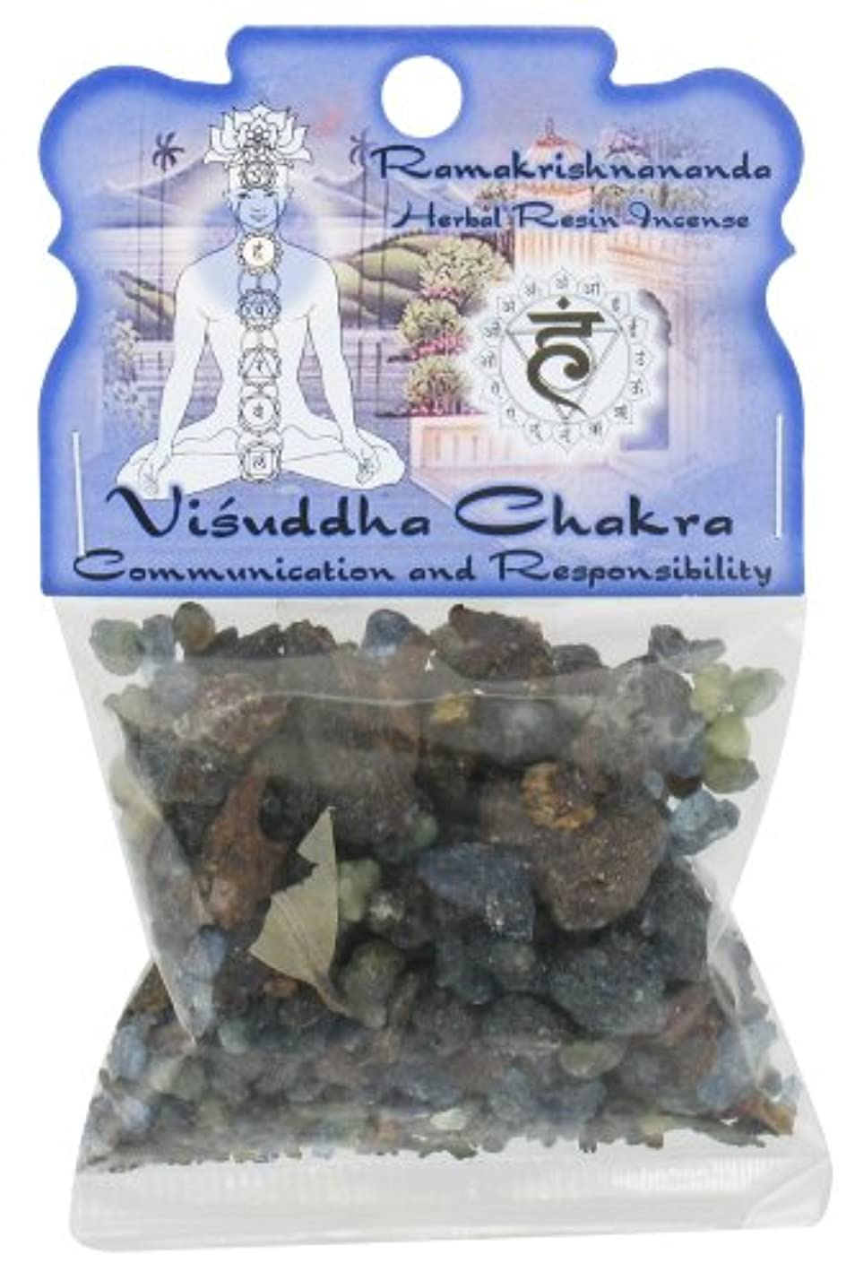スティック内なる時代Ramakrishnananda お香 樹脂バッグ ビジュダチャクラ 各1個