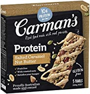 Carman's Salted Caramel Nut Butter Gourmet Protein Bars, 5-pack (2