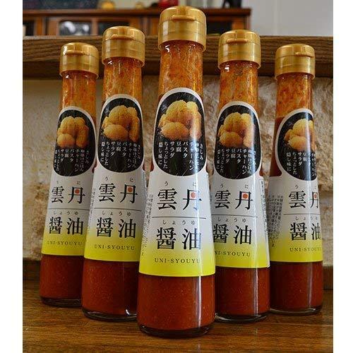下関水陸物産 大磯 雲丹醤油 120ml 瓶 1セット(6本入)