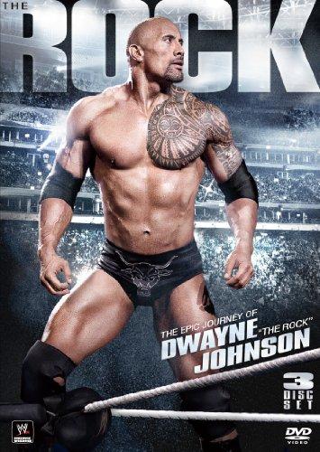 """WWE ドゥエイン・ジョンソン""""ザ・ロック""""エピック・ジャーニー(3枚組) [DVD]"""