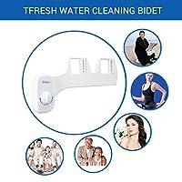 Single Nozzle Non-Electric Manual Bathroom Toilet Bidet Seat Attachment Fresh Water Cleaning Bidet Sprayer Flusher