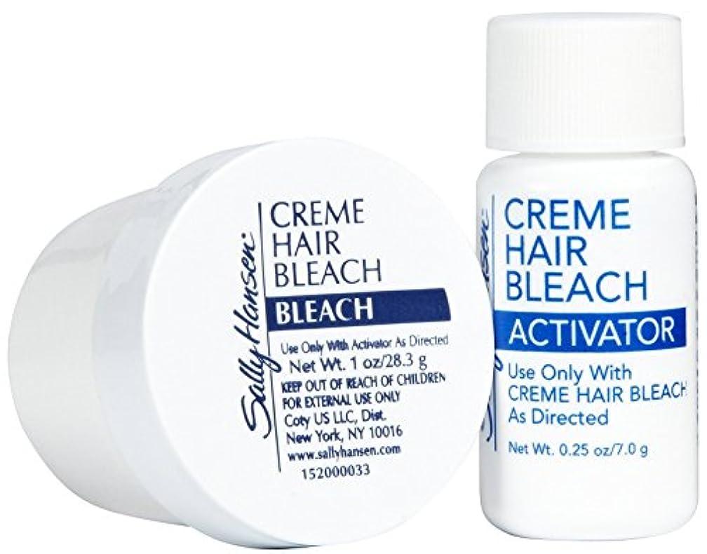 不安定な褐色けがをする顔用へアブリーチクリーム (並行輸入品)