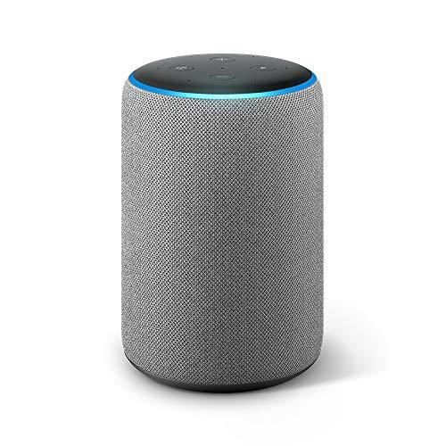 Echo Plus (エコープラス) 第2世代 - スマートスピーカー with Alexa、ヘザーグレー