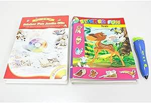ペンボイス 英語/日本語童話シリーズ ステッカーファンブック12冊セット