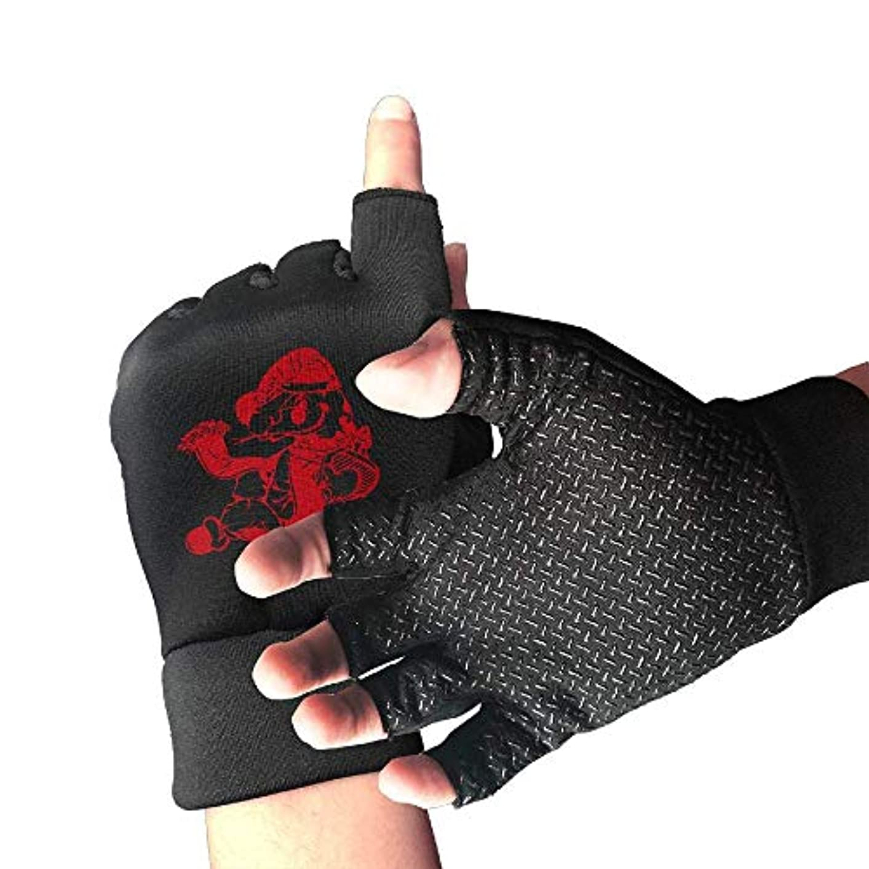 平らにするインレイセールサイクリンググローブ中国の黄道帯の蛇メンズ/レディースマウンテンバイクの手袋ハーフフィンガースリップ防止オートバイの手袋