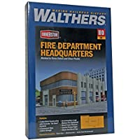 Walthers Cornerstone Fire Dept Headquarters