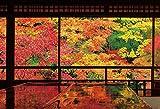 1000ピースジグソーパズル 紅葉映える瑠璃光院