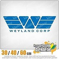 KIWISTAR - Weyland Corporation Predator 15色 - ネオン+クロム! ステッカービニールオートバイ