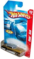 Mattel Hot Wheels 2006 Code Car Series 1:64 Scale Die Cast Metal Car # 23 of 24 - Gold with Black and White Accent