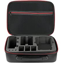 IVSO DJI Mavic Air Case , Lightweight Waterproof Drone Storage Package Bag Travel Carring Hard Case for DJI Mavic Air Drone - Black