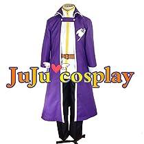 JuJucosplay フェアリーテイル グレイ・フルバスター コスプレ衣装 (男性用LLサイズ) 新ゲーム|制服|キャラクター |ステージ仮装|舞台服|ハロウィーン|演出服| コスチューム|イベント|変身|変装|コス|アニメ