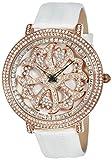 [ブルッキアーナ]BROOKIANA スピンウォッチ ジルコニアストーン クオーツ ホワイト×ホワイトレザー BA2310-RGWH  腕時計