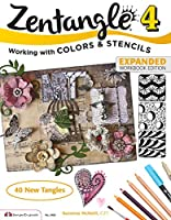 Zentangle 4: Working With Colors & Stencils