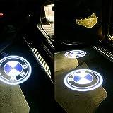 BMW 高品質 カーテシ LED レーザーロゴライト アンダースポット / ドアレーザーライト / カーテシライト 配線不要 / 純正交換タイプ BMW K001-76 (¥ 1,199)