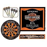 Harley-Davidson 61992 Oil Can Dart Cabinet Kit [並行輸入品]