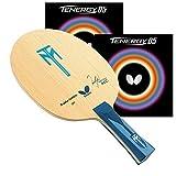 バタフライティモ・ボルALC with Tenergy 05?2.1ブラック/レッドRubbers pro-lineテーブルテニスラケット