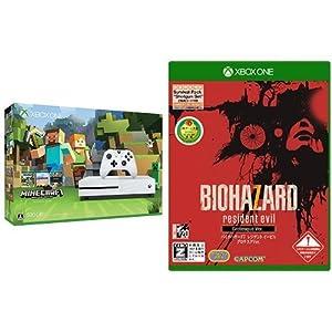 Xbox One S 500GB Minecraft 同梱版 (ZQ9-00068) + バイオハザード7 レジデント イービル グロテスクVer.【CEROレーティング「Z」】