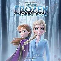 Disney Frozen Coloring Book: Disney   Frozen   Princess   For Kids   Ages 3-7   Exclusive Book   31 Illustrations