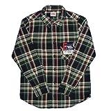 EDWIN(エドウィン) JB8108-175 綿100% エドウィン ボーイズ ネルシャツ ...