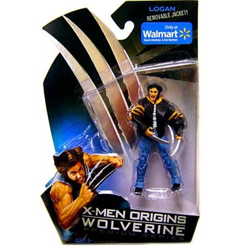 X-Men Origins Wolverine Premium Series Exclusive Action Figure Logan with Removable Jacket by Hasbro [병행수입품]-