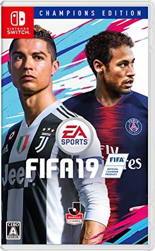 FIFA 19 CHAMPIONS EDITION - Switch (【初回限定特典】デジタルコンテンツダウンロードコード( ジャンボプレミアゴールドパック20個(1 × 20週間)+Cristiano Ronaldo 7試合FUTレンタル+スペシャルエディションFUTユニフォーム) 同梱)