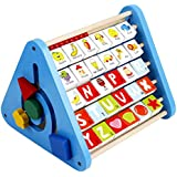 TLMYDD 木製教育玩具ダニー知恵多機能幼児学習玩具の強力な組み合わせ 子供のおもちゃ