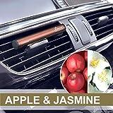 カーメイト Luno ルーノ 車用 消臭 芳香剤 天然香料 配合 フレグランス スティック エアコン 取付 ボタニカル アップル & ジャスミン H1331