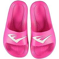 Official Brand Everlast Sliders Sandals Childs Girls Pink Flip Flop Thongs Beach Shoes