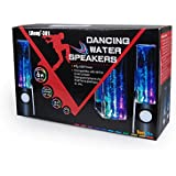 ZeHui Flylinktech? Mini Computer Speakers LED Light Dancing Water Show Music Fountain For Laptop PC