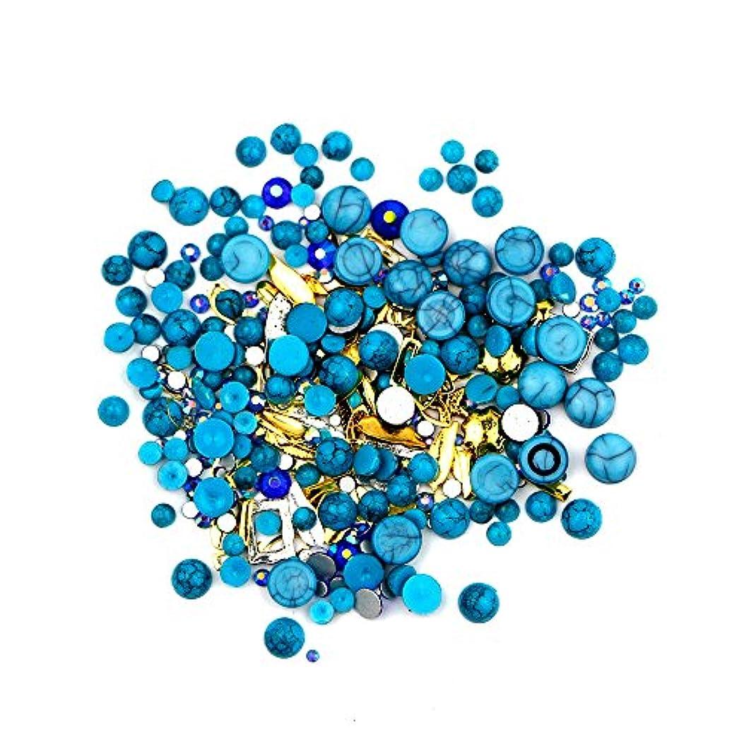 司書ステートメントファンシーネイルアート カラフルネイルパール ネイルセット ネイル3Dデコレーション ネイル用ストーン 多種類