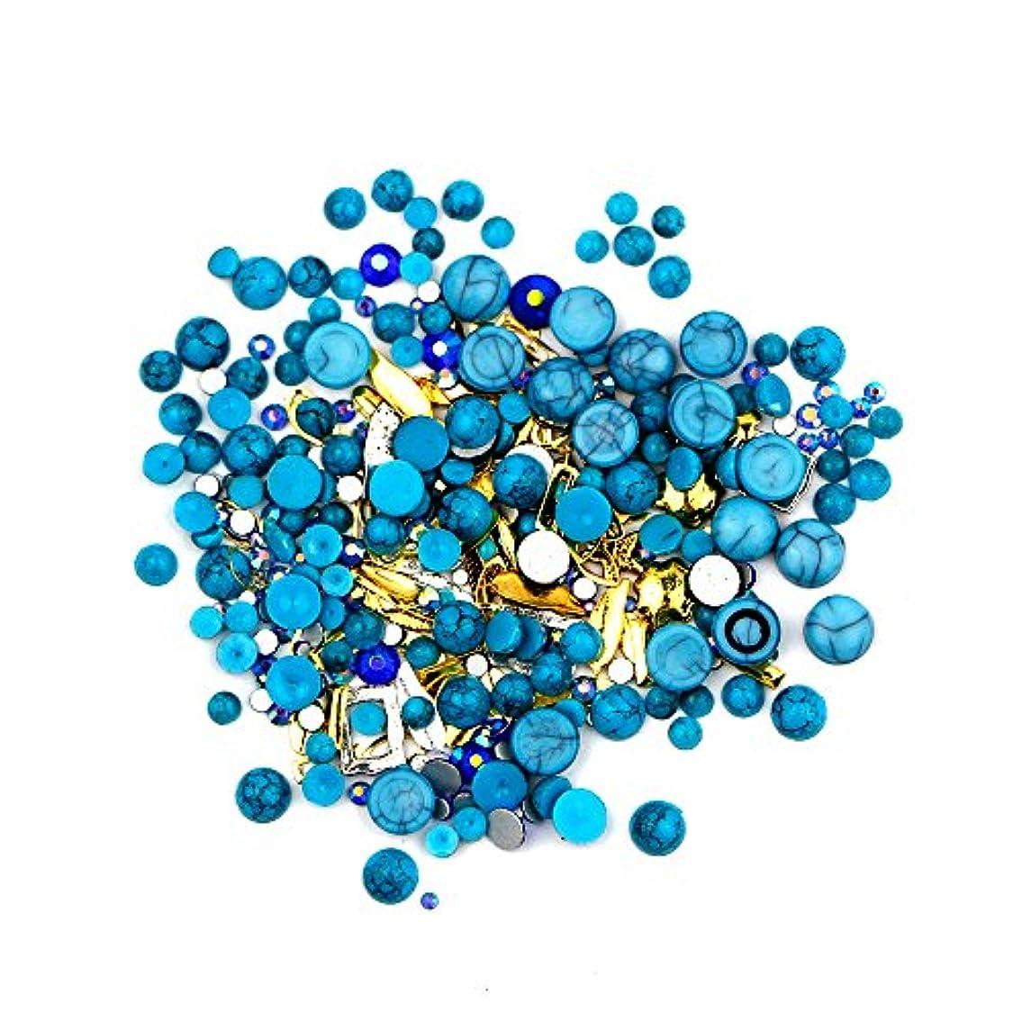 反逆遺伝子危険なネイルアート カラフルネイルパール ネイルセット ネイル3Dデコレーション ネイル用ストーン 多種類