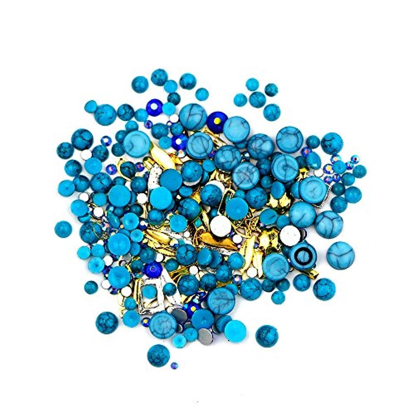パック私奇跡ネイルアート カラフルネイルパール ネイルセット ネイル3Dデコレーション ネイル用ストーン 多種類