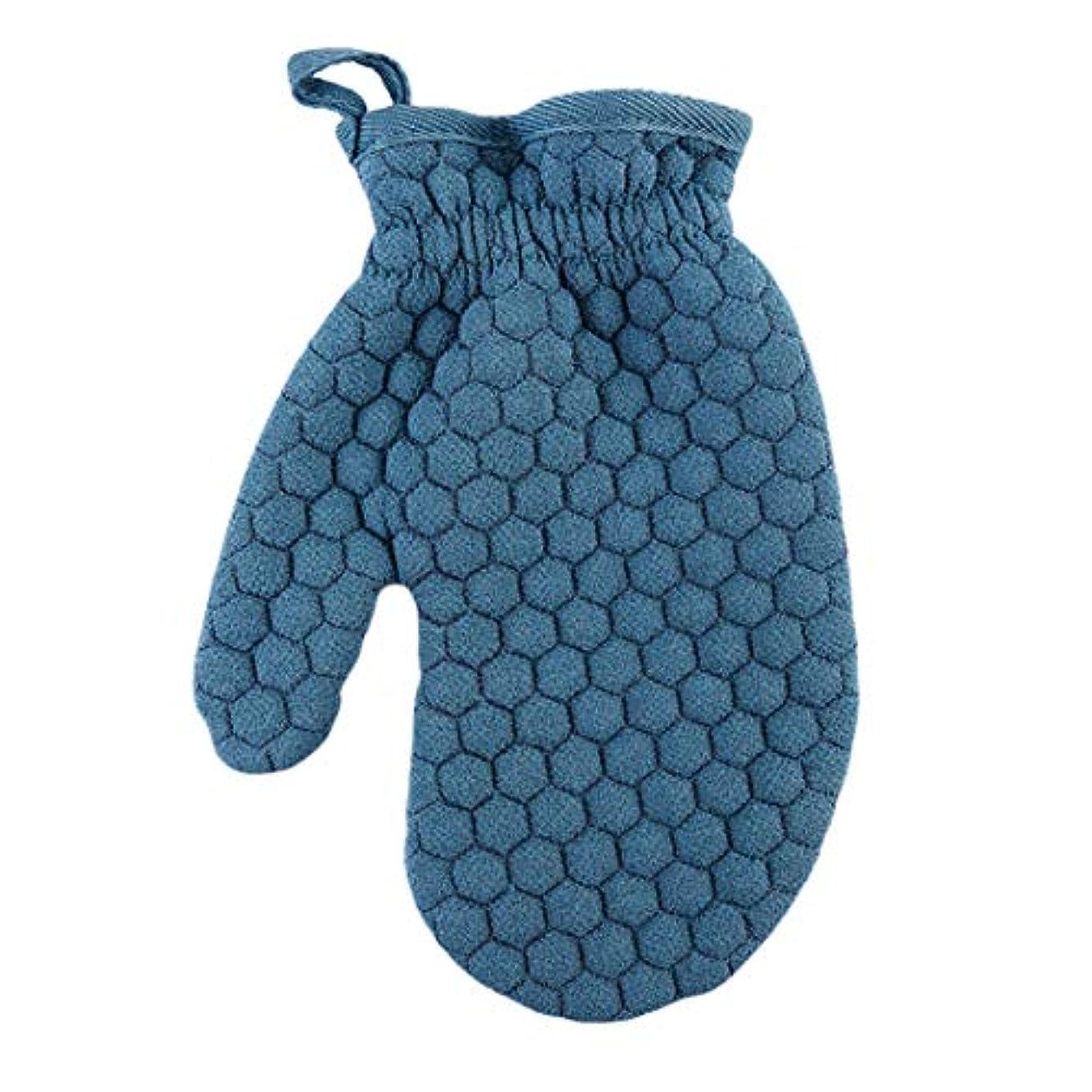 Lehao ボディ手袋 ボディミトン 両面あかすり 垢すり手袋 弾性カフ ボディブラシ 浴用手袋 ボディタオル 男女兼用 入浴用品