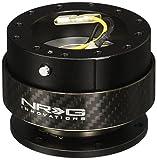 NRG Gen 2.0ステアリングホイールクイックリリースキットカーボンファイバーリングブラックボディ( Part : srk-200cf )標準発送無料