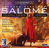 シュトラウス:歌劇「サロメ」(フランス語歌唱)(イタリア国際管/カルディ)