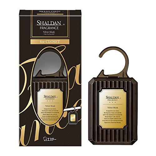 シャルダン SHALDAN フレグランス for CLOSET 芳香剤 クローゼット用 本体 ベルベットムスク 30g