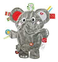 Vital Innovations Friends LL-FR1206 Label-Label Cuddly Elephant Grey