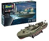 ドイツレベル 1/72 アメリカ海軍 PTボート PT-109魚雷艇 プラモデル 05147