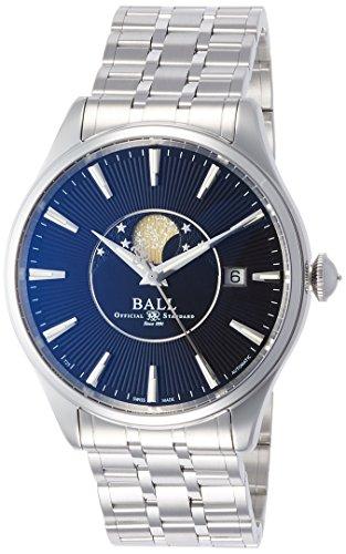 [ボールウォッチ]BALL WATCH 腕時計 ムーンフェイズ ブラック文字盤 ステンレススチール 自動巻き 50m防水 NM3082D-SJ-BK メンズ 【並行輸入品】